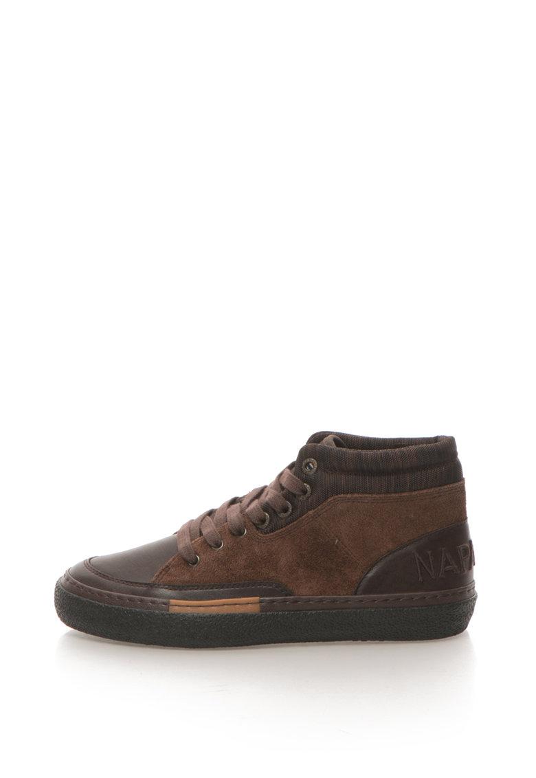 Napapijri Pantofi sport mid-high cu logo brodat Jakob