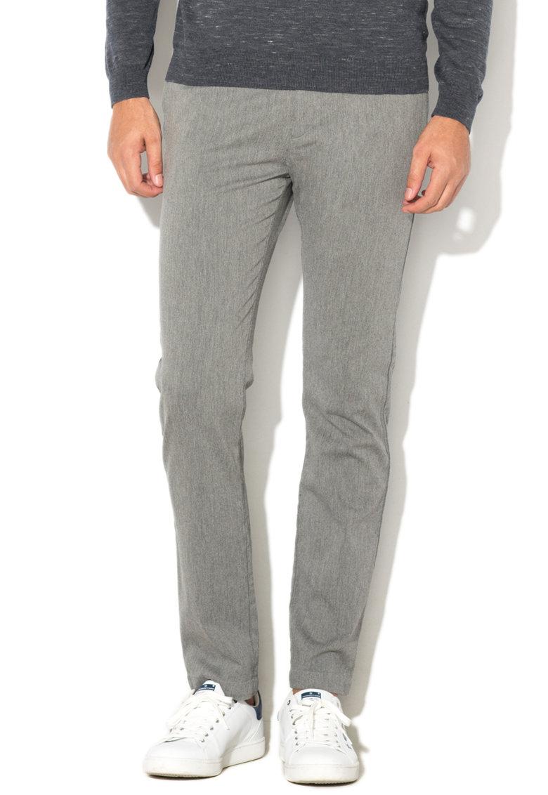Esprit Pantaloni slim fit cu talie medie