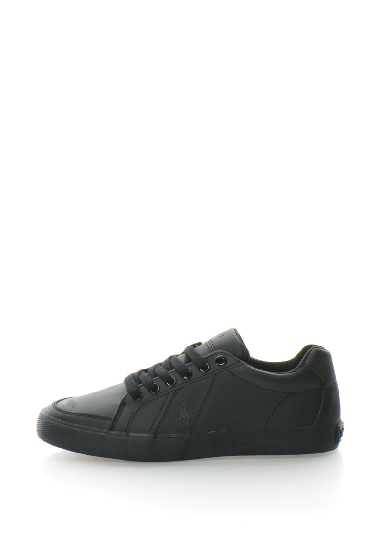 Pantofi sport de piele cu logo brodat Hugh de la Polo Ralph Lauren