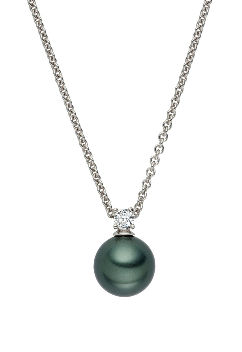 Zee Lane Colier cu pandantiv din perla sintetica