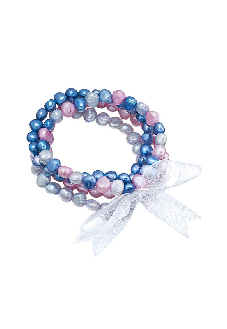 Zee Lane Bratara cu siraguri multiple de perle