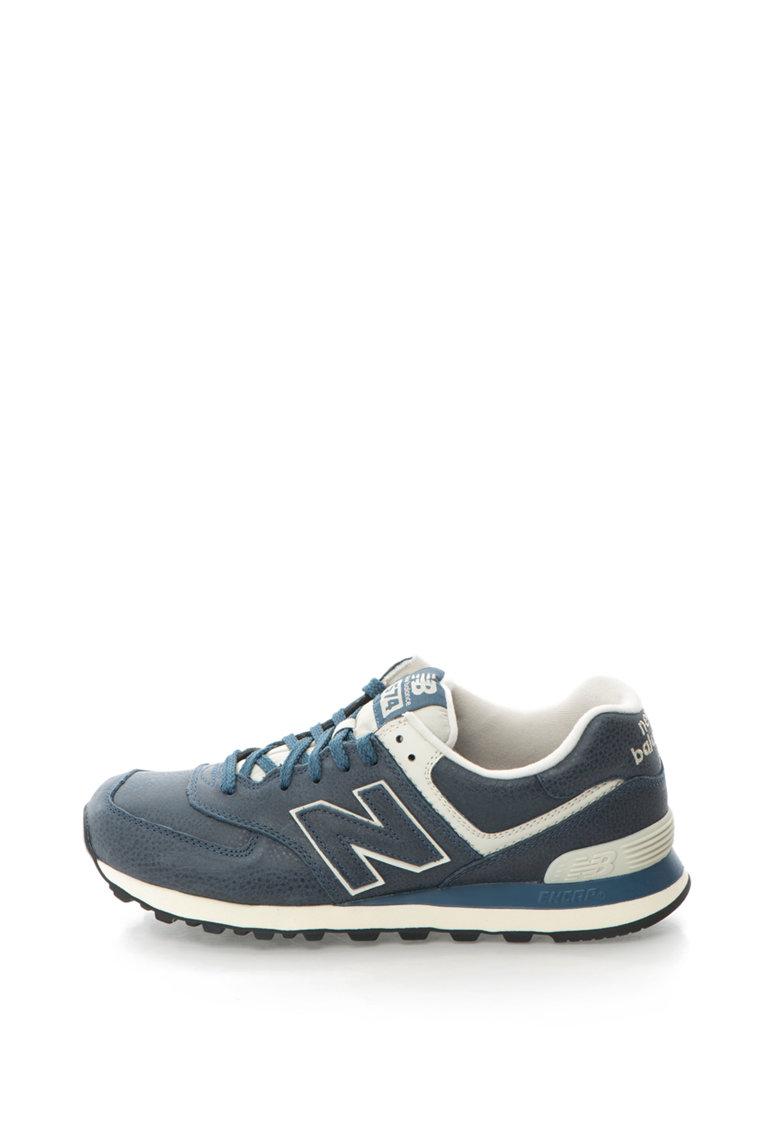 Pantofi sport de piele cu sireturi 574 de la New Balance