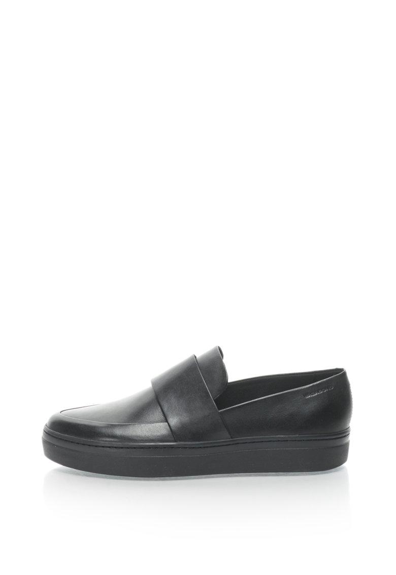 Pantofi loafer de piele Camille de la Vagabond