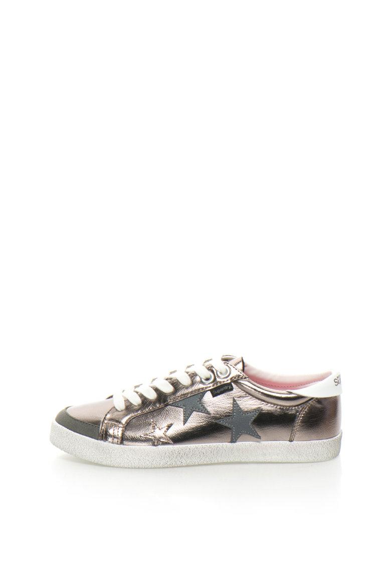Pantofi sport cu aplicatie stea de la SUPERDRY
