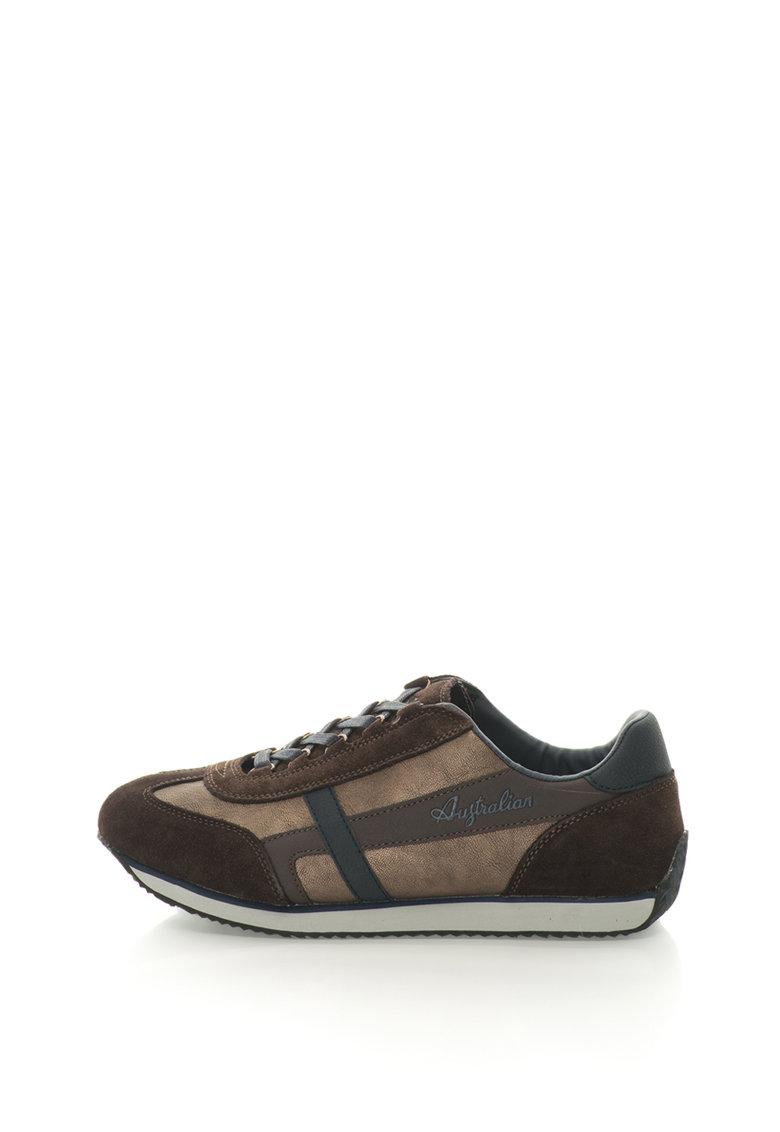 Pantofi sport cu garnituri contrastante