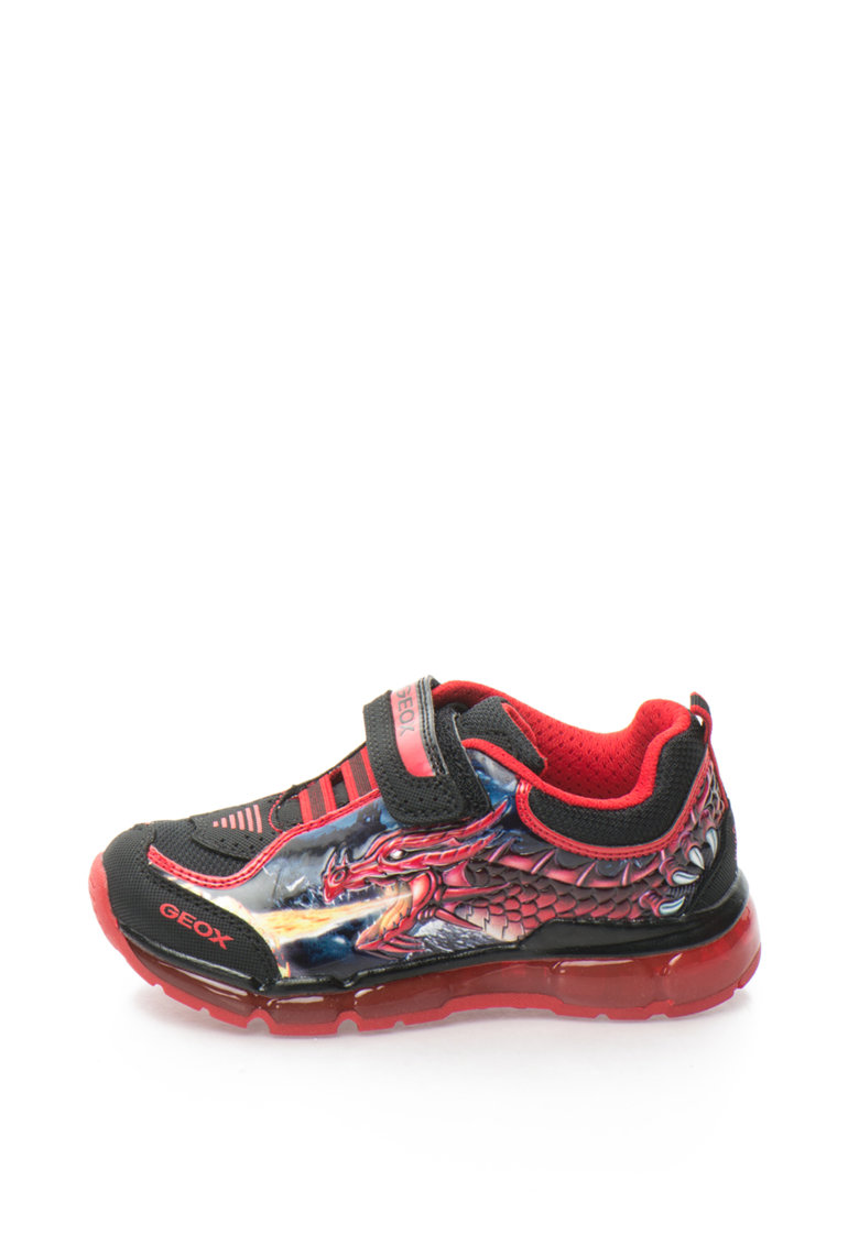 Pantofi sport cu LED Android de la Geox