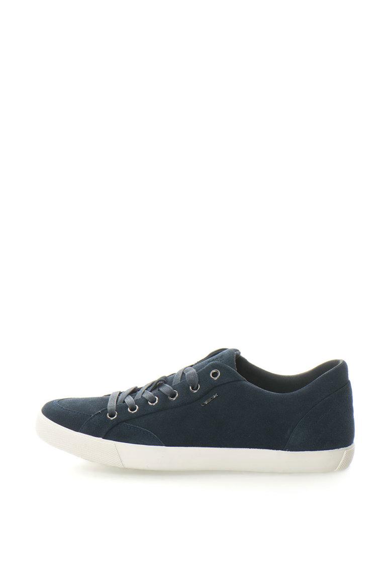 Pantofi Sport Din Piele Si Piele Intoarsa Smart