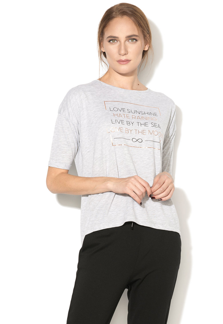 Hailys Haily's – Tricou cu maneci ample Love