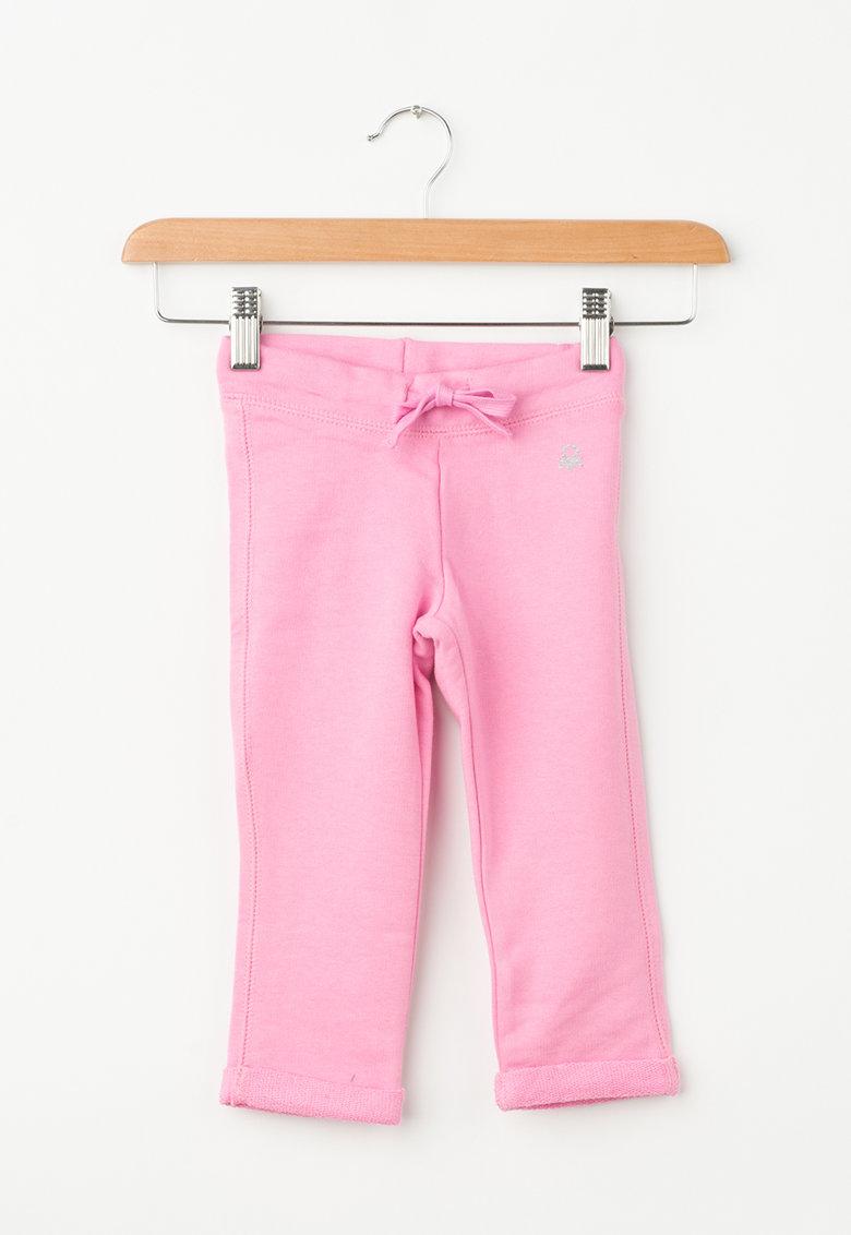 United Colors of Benetton Pantaloni sport cu snur pentru ajustare