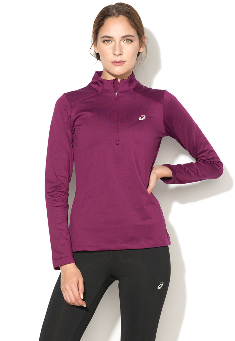 Bluza cu fermoar scurt - pentru alergare Ess Winter