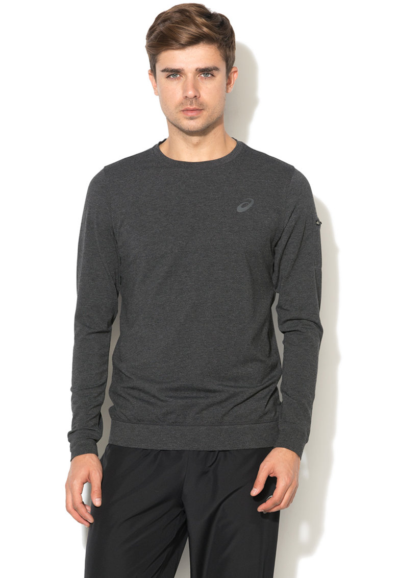 Bluza cu decolteu la baza gatului pentru fitness