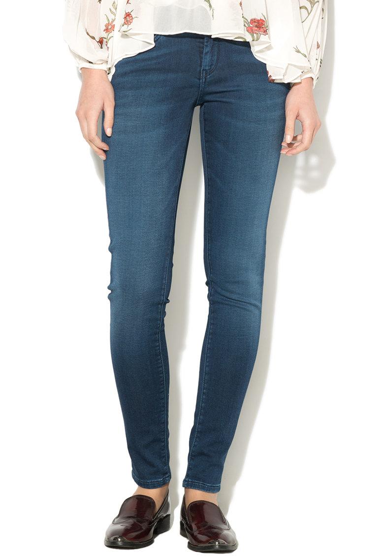 Blugi cu talie medie Pixie de la Pepe Jeans London