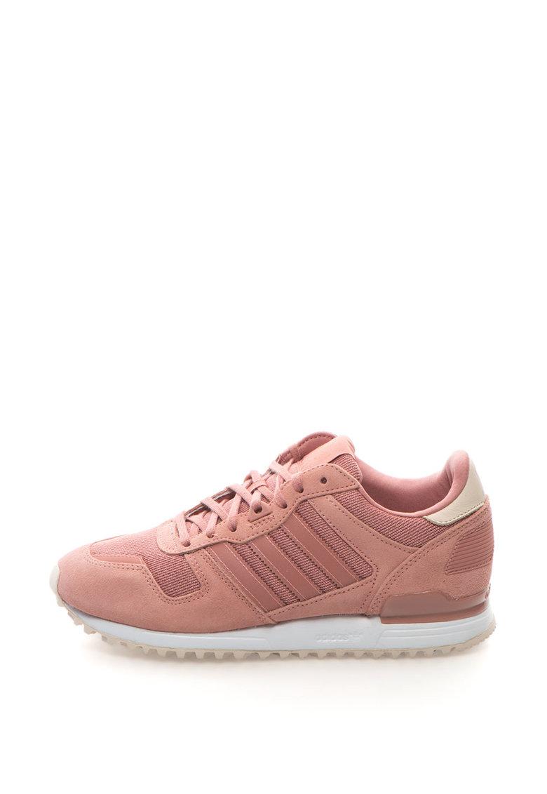 Adidas ORIGINALS Pantofi sport cu garnituri de piele intoarsa ZX 700