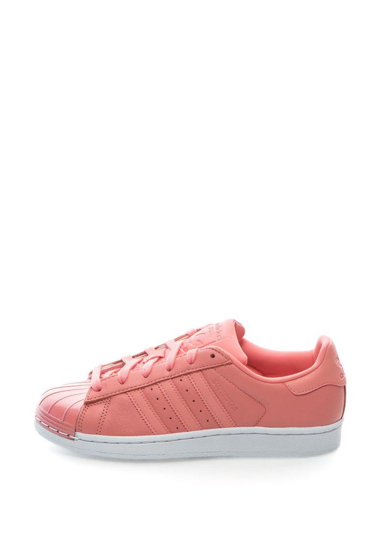 Adidas ORIGINALS Pantofi sport cu varf stralucitor Superstar