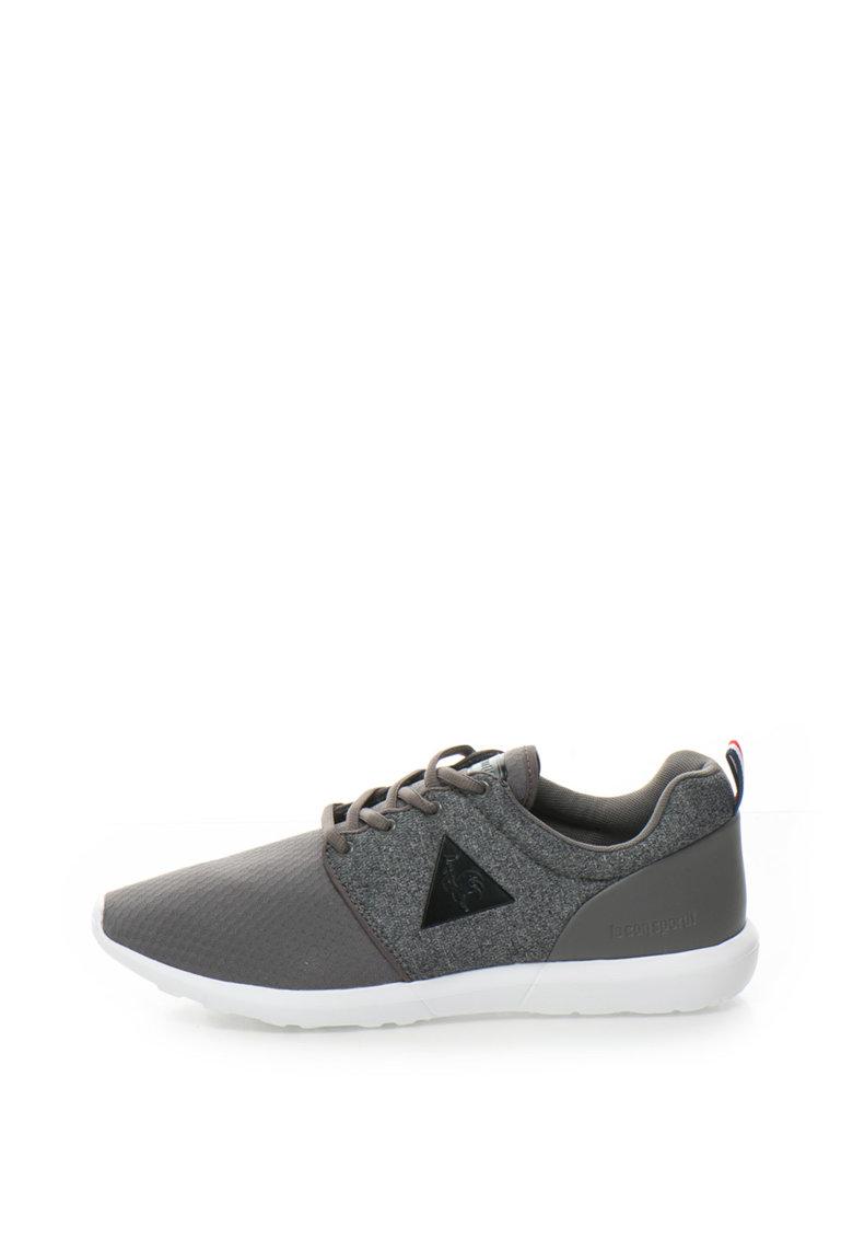 Le Coq Sportif Pantofi sport cu insertii de plasa si tricot Dynacomf