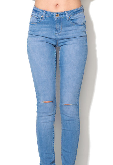 New Look Jeansi skinny bleu Slash Femei