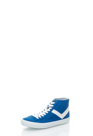 Tenisi inalti albastru inchis din panza Topstar Vulc
