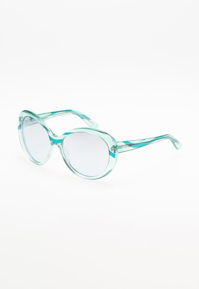 Ochelari de soare albastru transparent de la Emilio Pucci