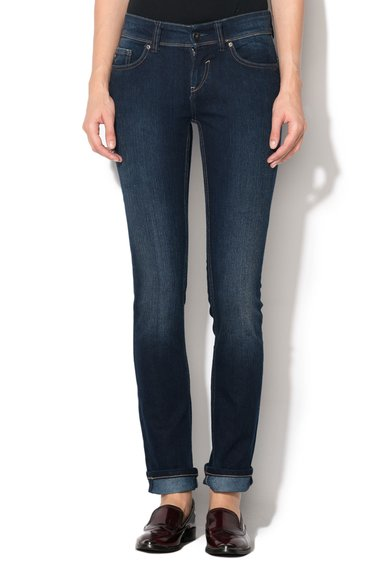 Jeansi conici slim fit bleumarin Jennifer 566
