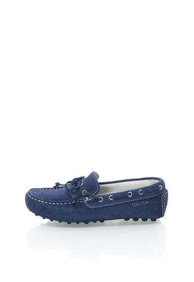 FashionDays.ro: Pantofi boat bleumarin din piele intoarsa Phil Calvin Klein Jeans
