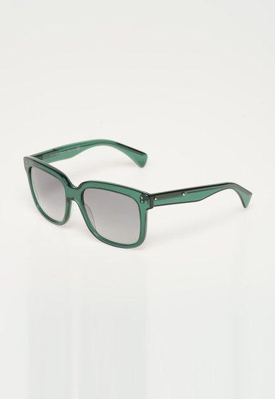 Ochelari de soare verde inchis transparent