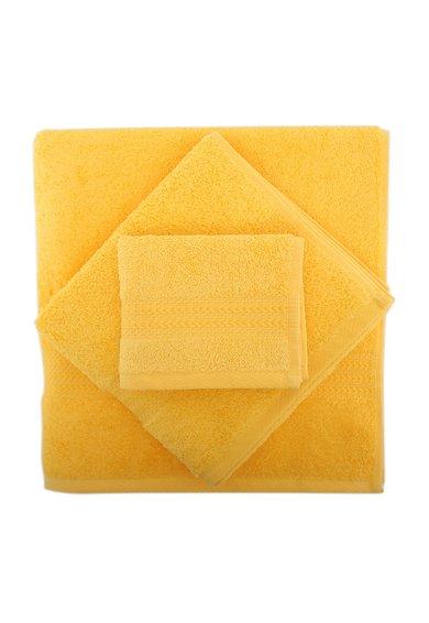 Set de prosoape galben asfintit – 3 piese de la Hobby