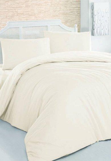Leunelle Set de pat crem din material ranforce