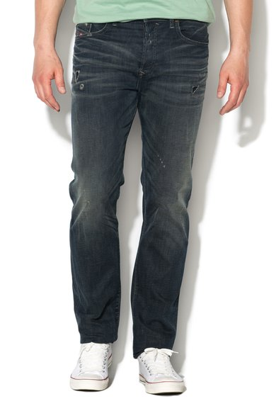 Diesel Jeansi bleumarin regular fit conici Buster