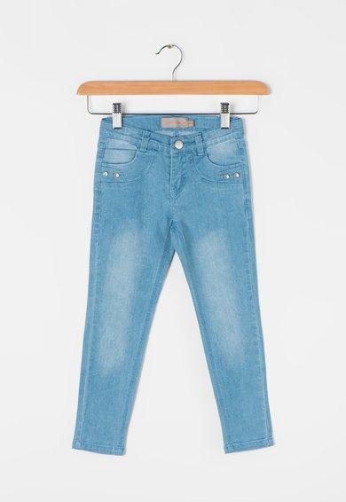 Creamie Jeansi albastri cu aspect decolorat Etna