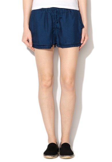 Pepe Jeans London Pantaloni scurti albastru ink regular fit Mia