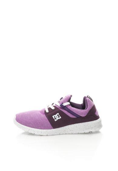 Pantofi skate in nuante de purpuriu Heathrow de la DC