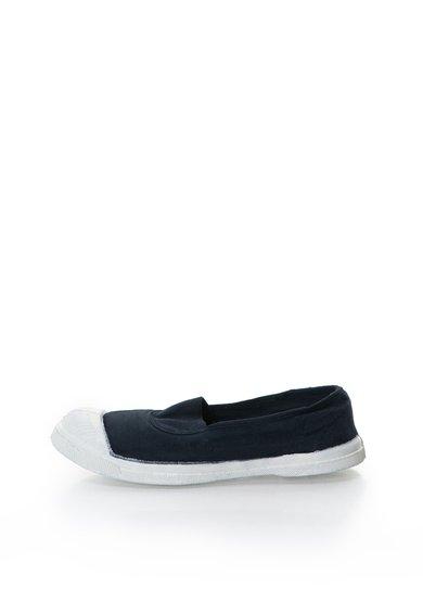 Pantofi slip-on bleumarin inchis de la Bensimon