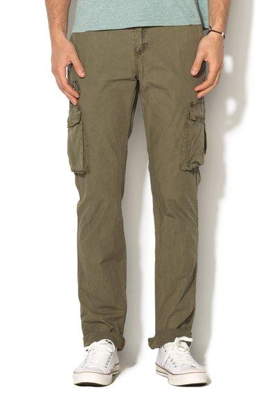 Desigual Pantaloni cargo verde oliv