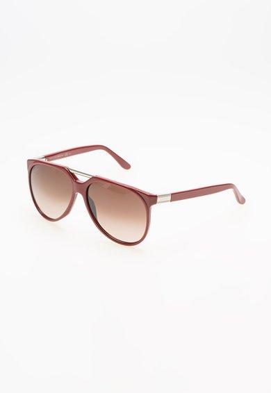Ochelari de soare rosii de la Gucci