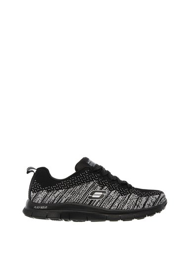 Pantofi sport gri cu negru Flex Appeal