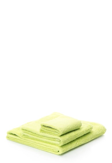 Set de prosoape verde tei New Plus – 3 piese de la Sorema