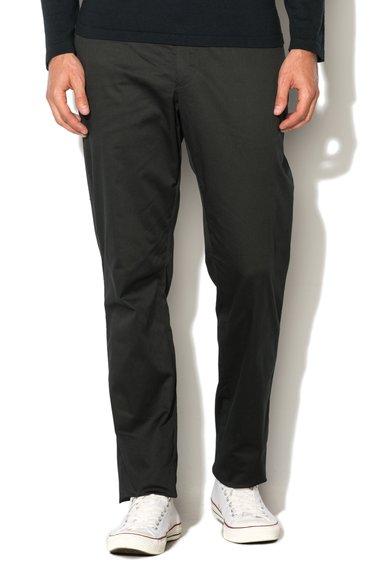 Pantaloni eleganti tailored fit negri