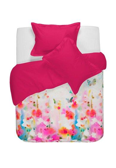 NAF NAF linge de maison Set de pat fucsia cu alb cu imprimeu floral Shira