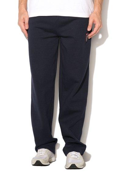 Pantaloni sport bleumarin inchis Tonal