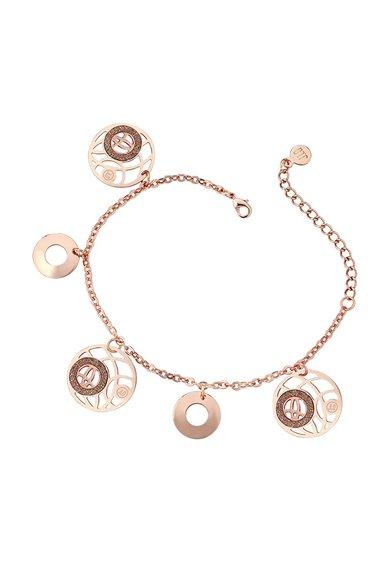 FashionDays.ro: Bratara auriu rose cu particule stralucitoare JLo by Jennifer Lopez