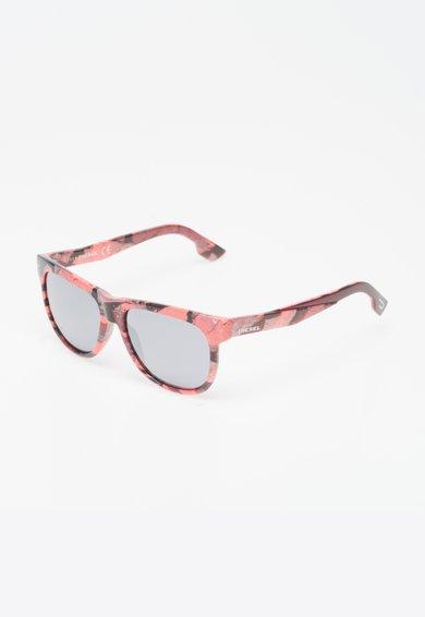 Diesel Ochelari de soare multicolori cu lentile oglinda
