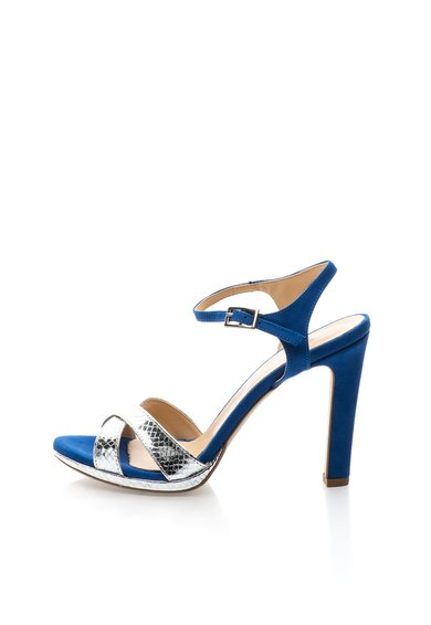 Sandale argintiu cu albastru royal Renee de la Versace 19.69 Abbigliamento Sportivo