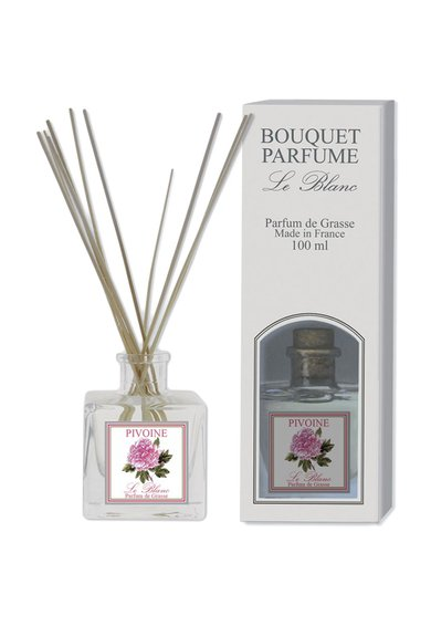 Le Blanc Difuzor de parfum cu bete de rattan Pivoine