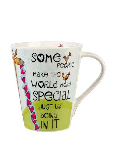 Churchill Cana multicolora cu mesaj Good Life