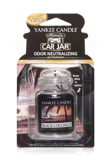 Yankee Candle Dezodorizant Car Jar® Ultimate cu Black Coconut
