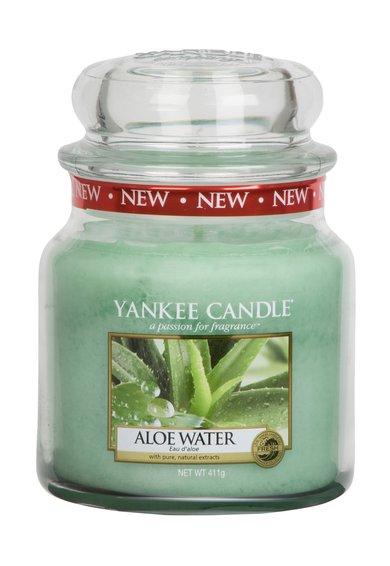 Yankee Candle Lumanare parfumata in borcan mediu Aloe Water