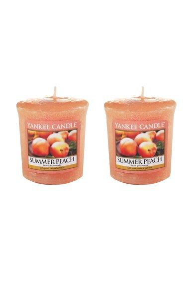 Set de lumanari parfumate Summer Peach™ - 2 bucati
