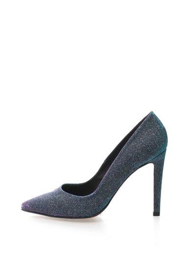 Pantofi stiletto cu particule stralucitoare si irizatii de la Roberto Botella