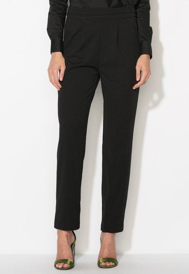 Pantaloni conici negri Zee Lane Collection