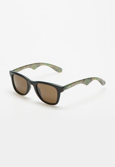 Ochelari de soare negru mat cu verde camuflaj de la Carrera by Jimmy Choo